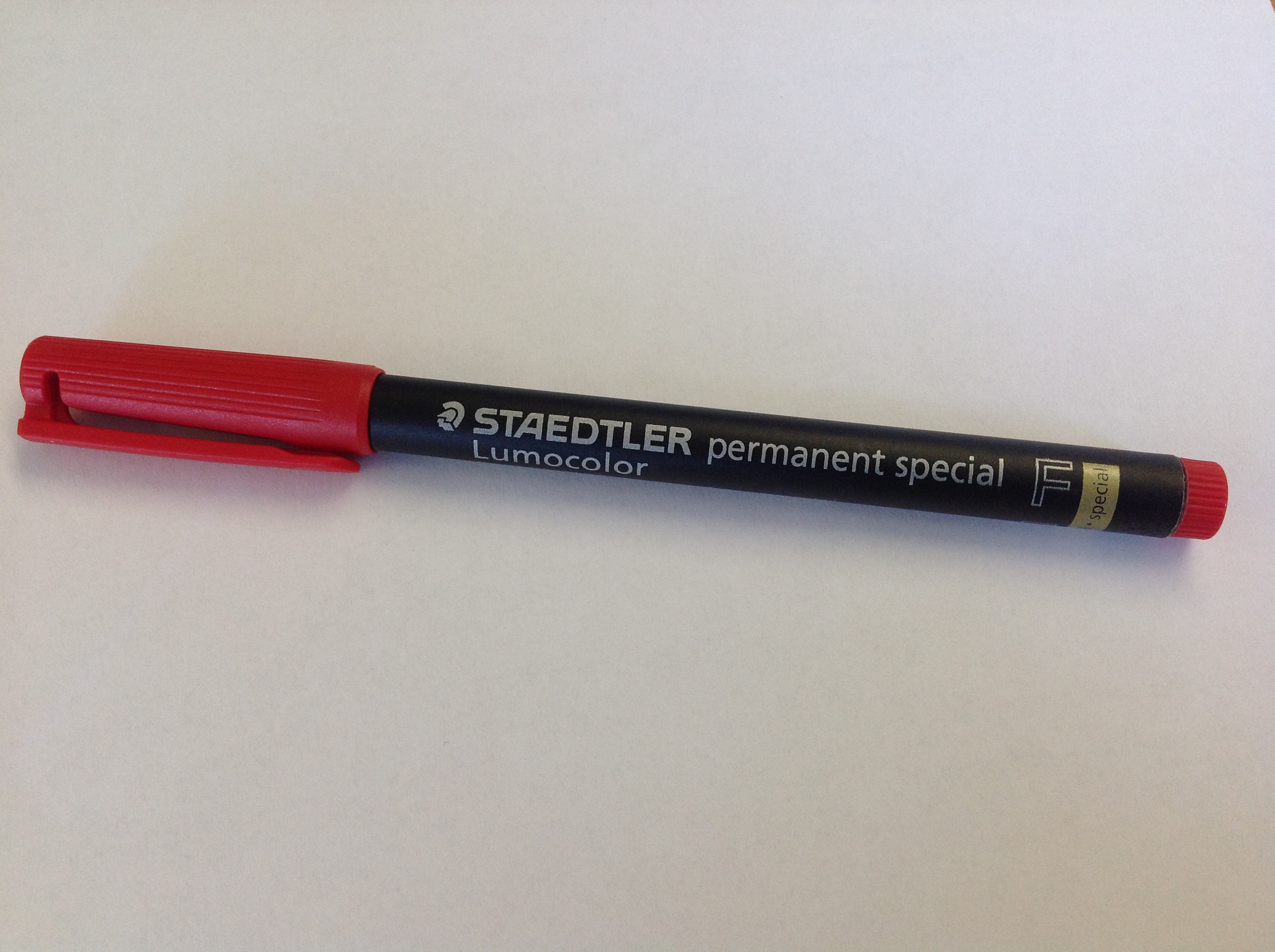 Red Fine Super Hydrophobic Marker Pen
